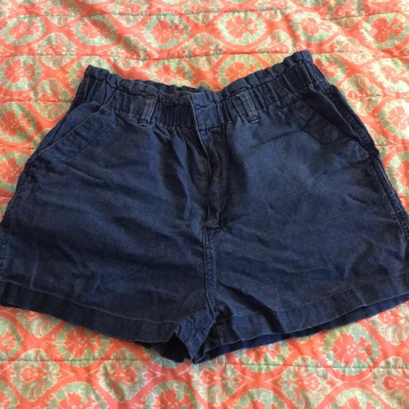 Universal Thread Pants - Blue denim shorts